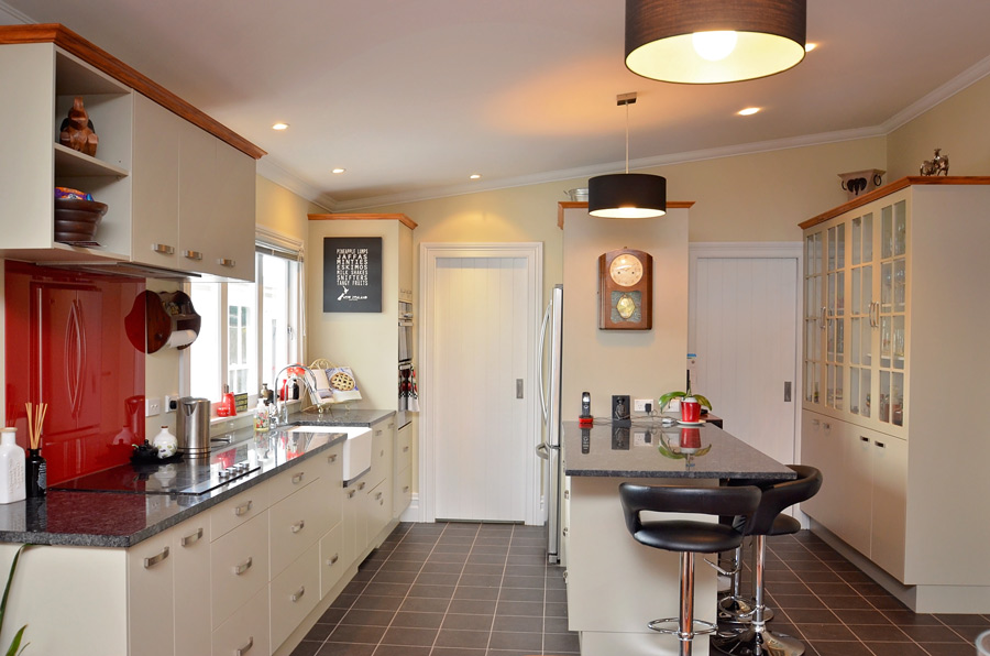 Kitchen design by Waipukurau Joinery
